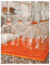 Drying Mat for Wine Glass