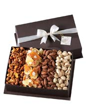 Gourmet Fruit and Nut Gift Basket
