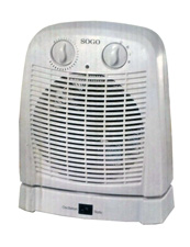 Sogo Fan Heater (Oscillation)